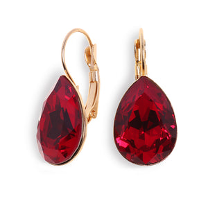 Date Night Earrings - Red - SEA Smadar Eliasaf