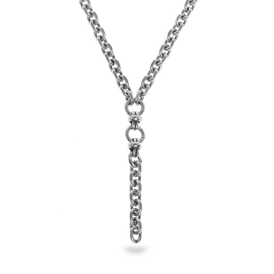 Rihanna Chain Necklace - Silver - SEA Smadar Eliasaf
