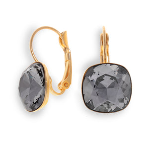 Date Night Earrings - Black Diamond Crystal - SEA Smadar Eliasaf