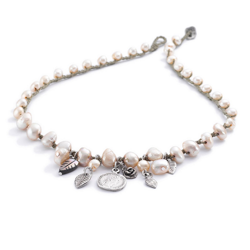 Sea Of Pearls Necklace - SEA Smadar Eliasaf