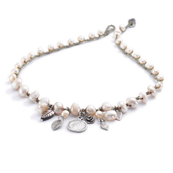 Sea Of Pearls Necklace