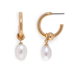 Hook Earrings with Pearls - SEA Smadar Eliasaf
