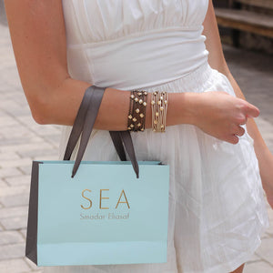 Eye-candy Bracelet  - Bronze - SEA Smadar Eliasaf