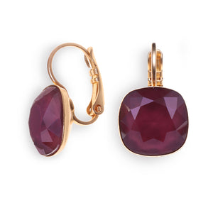 Date Night Earrings -  Ruby Crystal - SEA Smadar Eliasaf