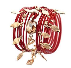 Hot Red Ivy Bracelet - SEA Smadar Eliasaf