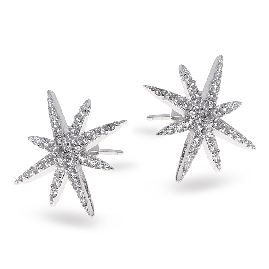 Sparkling Star Earrings - SEA Smadar Eliasaf