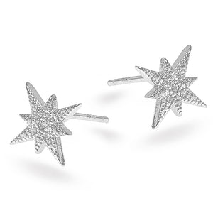 Silver Star Earrings - SEA Smadar Eliasaf