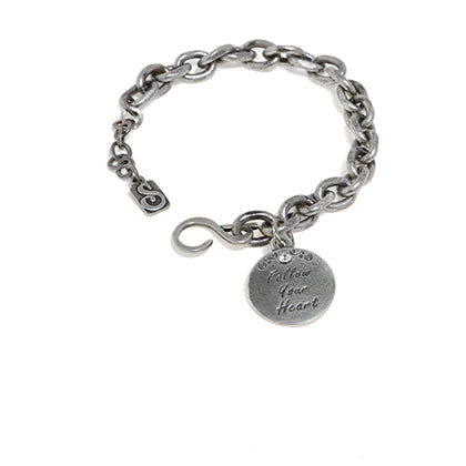 Live Your Dream Bracelet - Silver - SEA Smadar Eliasaf