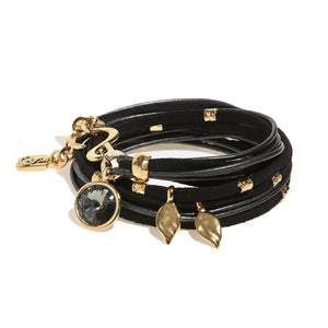 Black Ivy Pop Bracelet - Gold - SEA Smadar Eliasaf