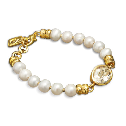 Regal Bracelet - Clear - SEA Smadar Eliasaf