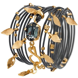 Black Diamond Ivy Bracelet - SEA Smadar Eliasaf