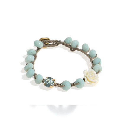 Amazonite Bloom Bracelet
