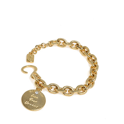 Live Your Dream Bracelet - Gold