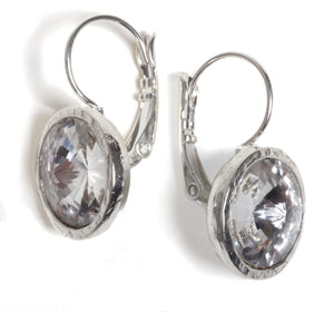 Classic Clear Earrings - SEA Smadar Eliasaf