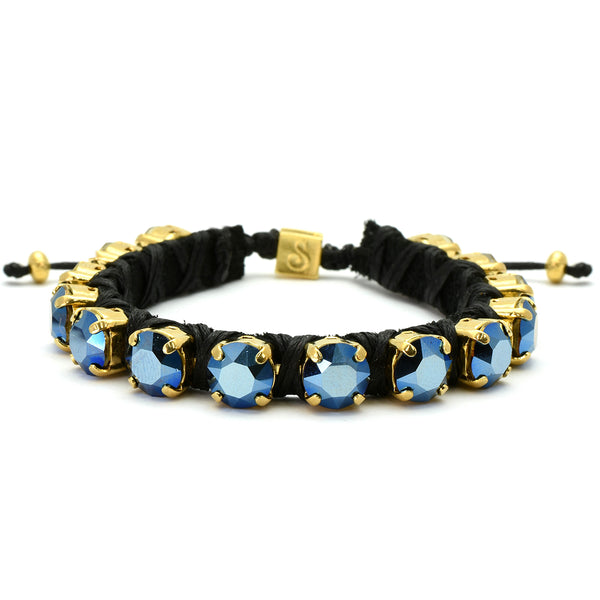 Metallic Blue Eye Candy Bracelet - Full - SEA Smadar Eliasaf