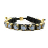 Dark Grey Eye Candy Bracelet - Full