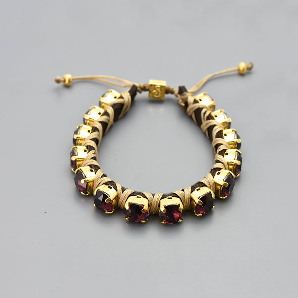Red Whine Eye Candy Bracelet - Full - SEA Smadar Eliasaf