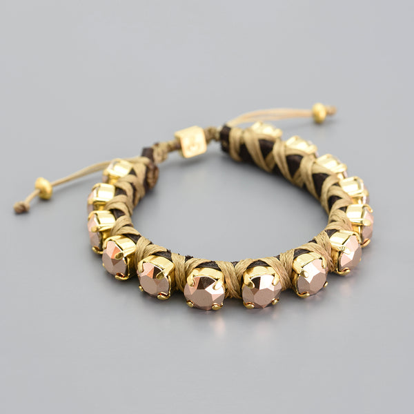 Rose Gold Eye Candy Bracelet - Full - SEA Smadar Eliasaf