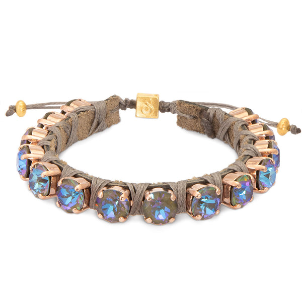 Army Green Eye Candies Bracelet - SEA Smadar Eliasaf