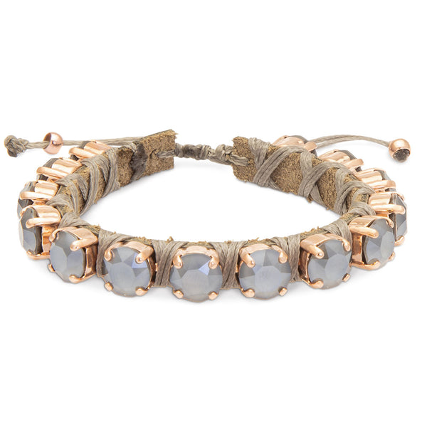 Dark Grey Eye Candies Bracelet