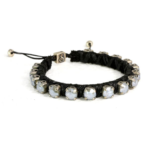 Dark Grey Eye Candy Bracelet