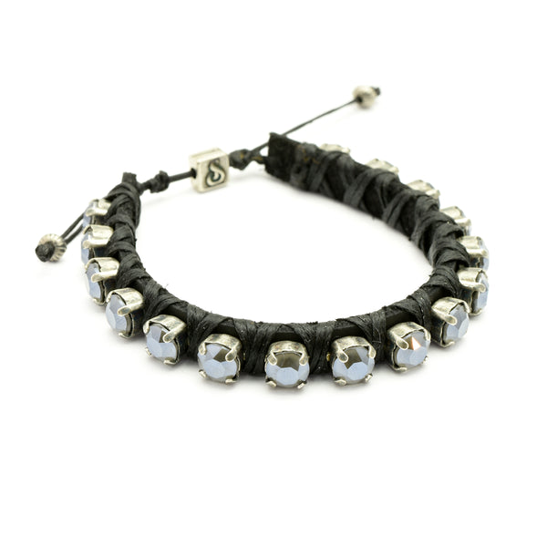 Dark Grey Candies Bracelet