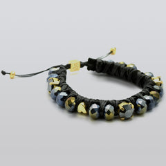Metallic Black Big Crush Bracelet - SEA Smadar Eliasaf