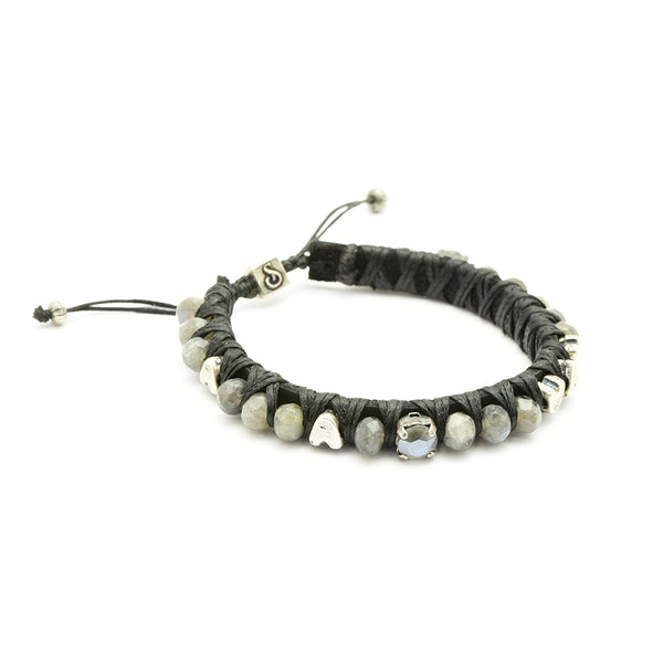 Grey Big Crush Bracelet