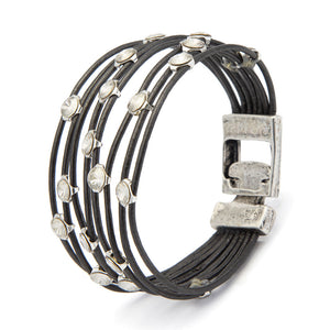 Eye-candy Bracelet - Dark Gray - SEA Smadar Eliasaf