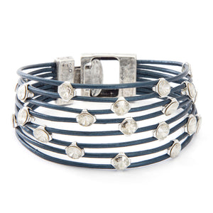 Eye-candy Bracelet - Blue Silver - SEA Smadar Eliasaf