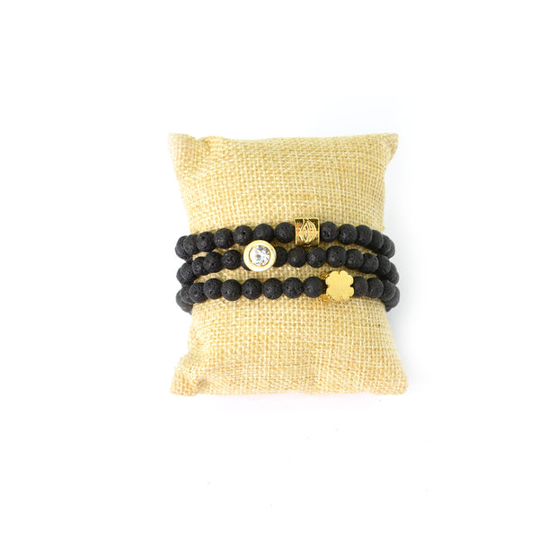 Lava Love Bracelet - Gold Set - SEA Smadar Eliasaf