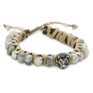 Grey Lion Bracelet - SEA Smadar Eliasaf