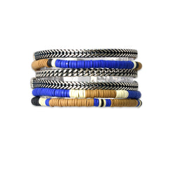 Dark Blue Midtown Bracelet - SEA Smadar Eliasaf