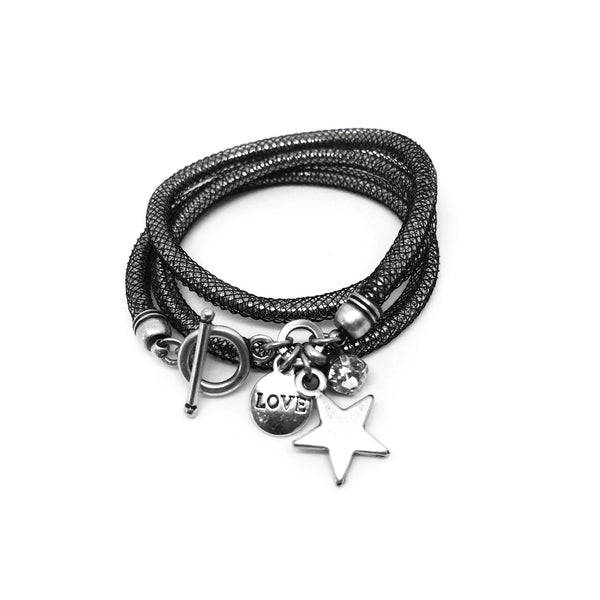 Star and Metal elements Bracelet/Necklace