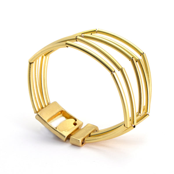 Gold Pipe-dream  Bracelet - SEA Smadar Eliasaf