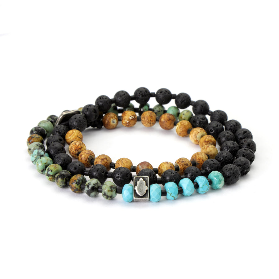 Bracelet of natural stones - SEA Smadar Eliasaf