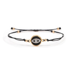 Thread Golden Bracelet - Eye - SEA Smadar Eliasaf
