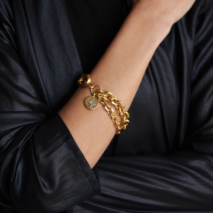 Rihana Wishful Star Bracelet - SEA Smadar Eliasaf