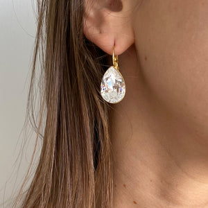 Date Night Earrings - Clear Drop - SEA Smadar Eliasaf