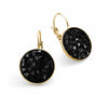 Black Sparks Earrings
