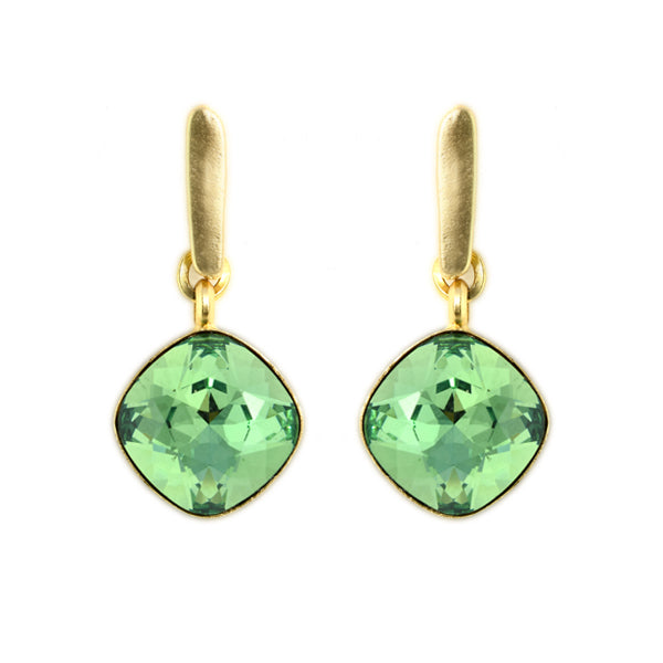 Green Hux Earrings