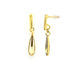 Golden Drop Earrings - SEA Smadar Eliasaf