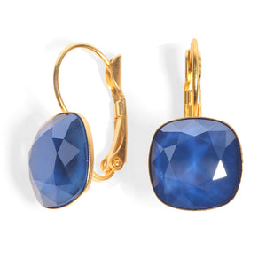 Date Night Earrings - Blue Swarovski - SEA Smadar Eliasaf