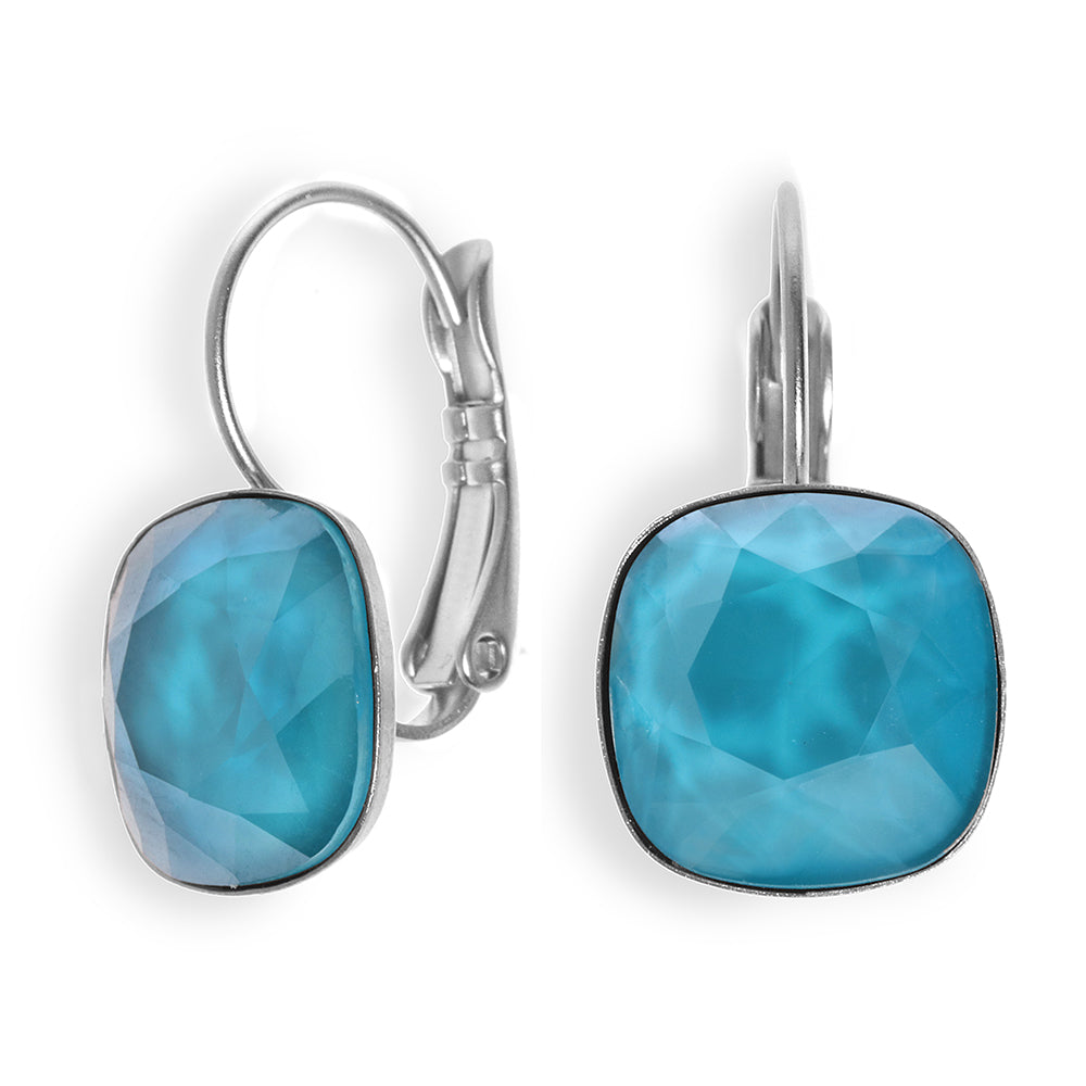 Date Night Earrings - Light Blue Swarovski - SEA Smadar Eliasaf