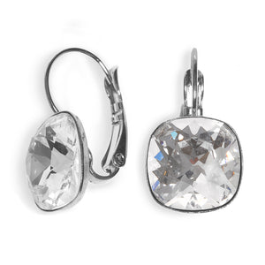 Date Night Earrings - Clear Swarovski - SEA Smadar Eliasaf