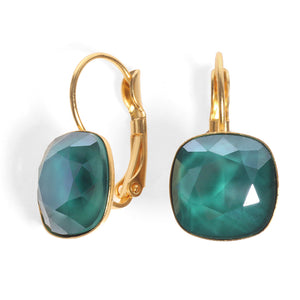 Date Night Earrings - Emerald Swarovski - SEA Smadar Eliasaf