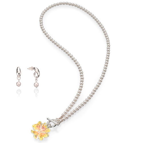 The Crystal Clover Necklace - SEA Smadar Eliasaf