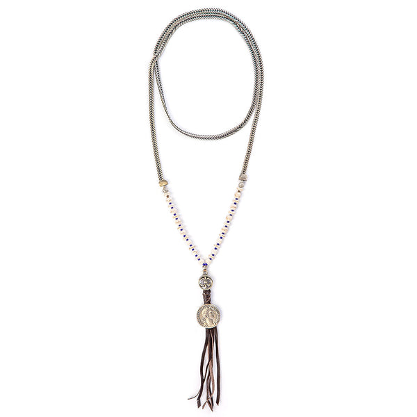 Metalic indie Necklace