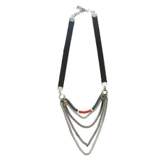 Red Midtown Necklace - Short - SEA Smadar Eliasaf