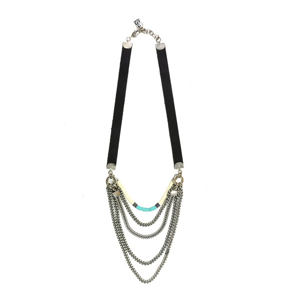 Turquoise Midtown Necklace - Short